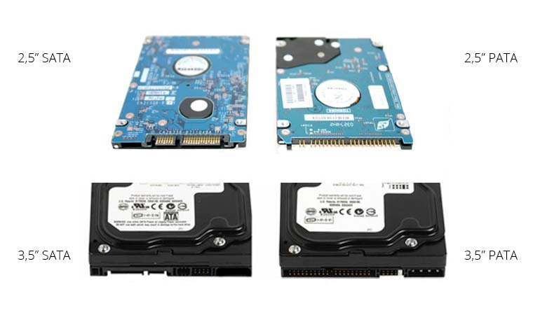 Differenze tra HDD SATA e PATA