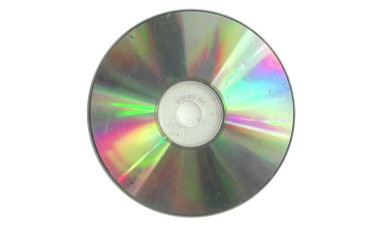DVD con superfici deteriorate