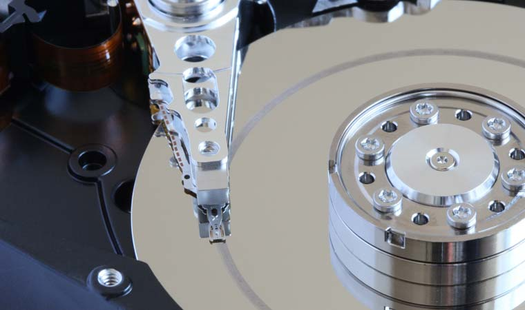 Head Crash su un Hard Disk
