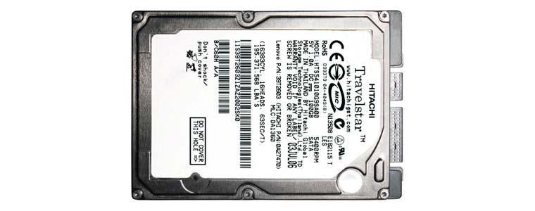 Recupero Dati da Hitachi HTS541010G9SA00